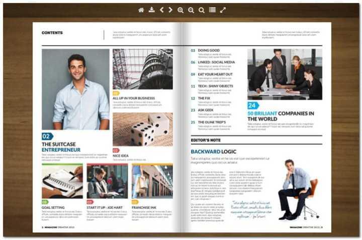 Newspaper Flipbook -jQuery