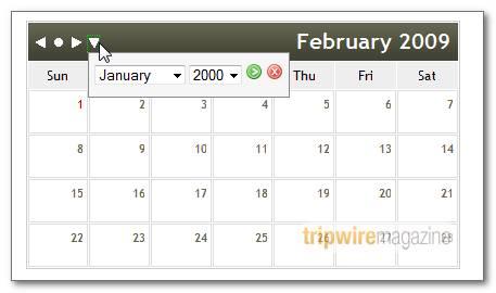 Free Super AJAX Calendar