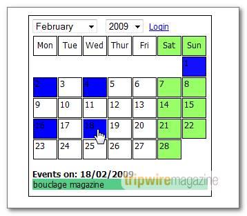 MySQL Calendar