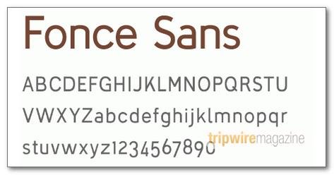 Fonce-Sans-Regular
