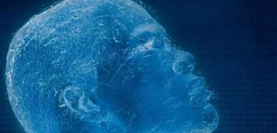 Create frozen liquid Photoshop effects