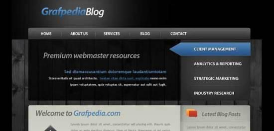 Design a creative wordpress theme