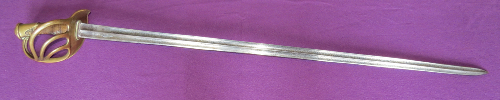 P-1854 French cuirassier's sabre (Item T-2013-003)