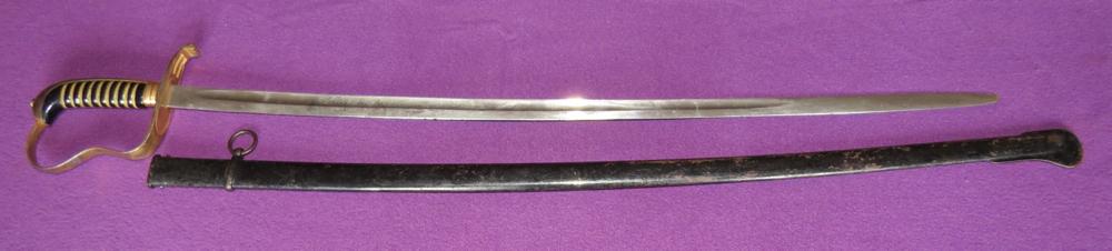 M-1855 Bavarian infantry officer's sabre (Item T-2013-004)