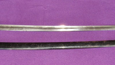 M-1855 Bavarian infantry officer's sabre (Item T-2013-004)