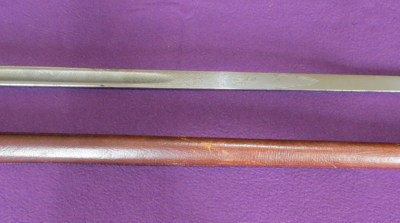 P-1897 British infantry officer's sabre (ERVII) (Item T-2016-007)