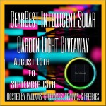Blogger Opp – GearBest Intelligent Solar Light Giveaway