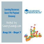 Learning Resources Gears! Pet Playland Giveaway!  Ends Sept. 7 ENDED
