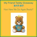 My Friend Teddy #Giveaway Ends Sept. 7