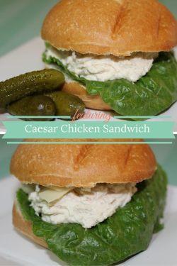 Caesar Chicken Sandwich pin