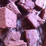 Chocolate Mint Fudge #Recipe
