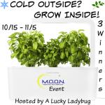 Cold Outside?  Grow Inside #Giveaway Ends Nov. 5