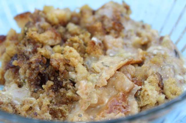 Chicken Breasts & Stuffing in the Slow Cooker