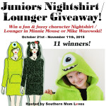 Juniors Nightshirt/Lounger #Giveaway Ends Nov. 11ENDED
