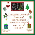 Everything Doormats #Giveaway #GTG2015 Ends Dec. 25