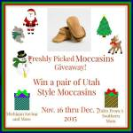 Freshly Picked Moccasins #Giveaway #GTG2015 Ends Dec. 7 ENDED