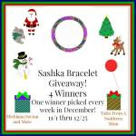 Sashka Bracelets #Giveaway Ends Dec. 25 ENDED