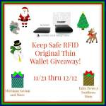 Allet Keep Safe RFID Original Thin Wallet #Giveaway #GTG2015 Ends Dec. 12 ENDED