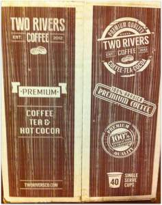 two rivers coffee box Trisha Dishes