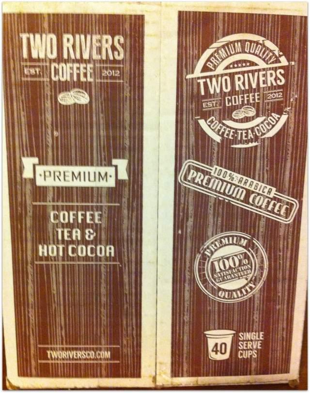 two rivers coffee box Trisha Dishes
