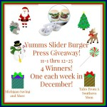 Yumms Slider Hamburger Press #Giveaway #GTG2015 Ends Dec. 25