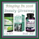 Ringing In 2016 Beauty #Giveaway Ends Feb. 1 ENDED