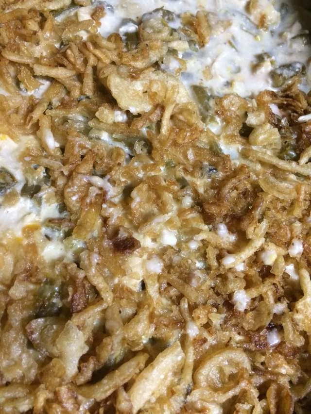 Chicken & Green Bean Casserole in the Slow Cooker