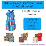 Dylan's Candy Bar Sweet Treats Tower #Giveaway Ends March 21