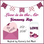 Love Is In The Air #Giveaway Hop: $25 Amazon Gift Card Giveaway #LoveIsInTheAir Ends Feb. 16 ENDED