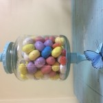 Upcycled Jar Into An Apothecary-Styled Candy Jar