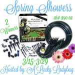 Spring Showers Micro-Sprinkler Kit #Giveaway Ends March 29