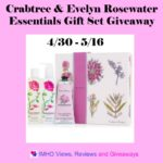 Crabtree & Evelyn Rosewater Essentials Gift Set Giveaway Ends May 16 *ENDED*