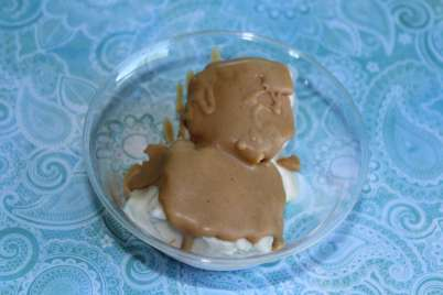 peanut butter hard shell topping