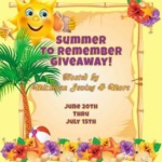 Summer To Remember #Giveaway @las930 Ends July 15 *ENDED*