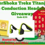AfterShokz Trekz Titanium Bone Conduction Headphones #Giveaway Ends Aug. 15 @las930 @AfterShokz
