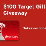 Dropprice $100 Target Gift Card #Giveaway Ends Apr. 4 *ENDED*