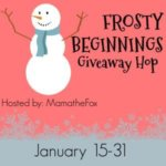 Frosty Beginnings Giveaway Hop Ends Jan. 31