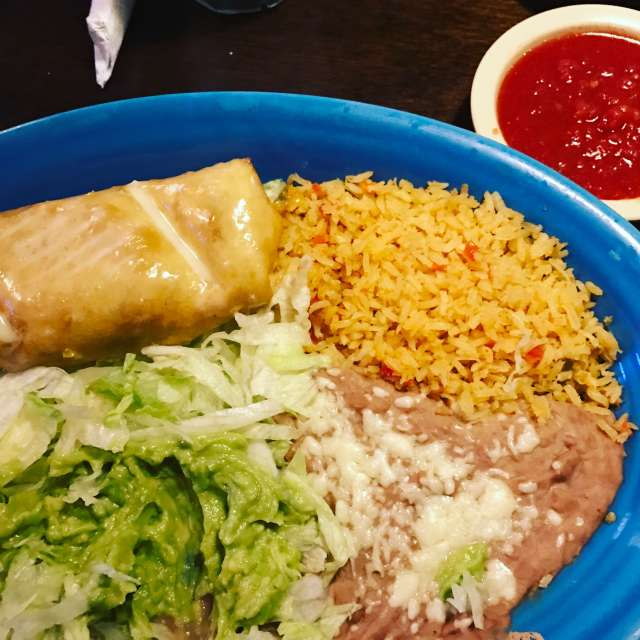 Casa Mexicana Shrimp Chimichanga