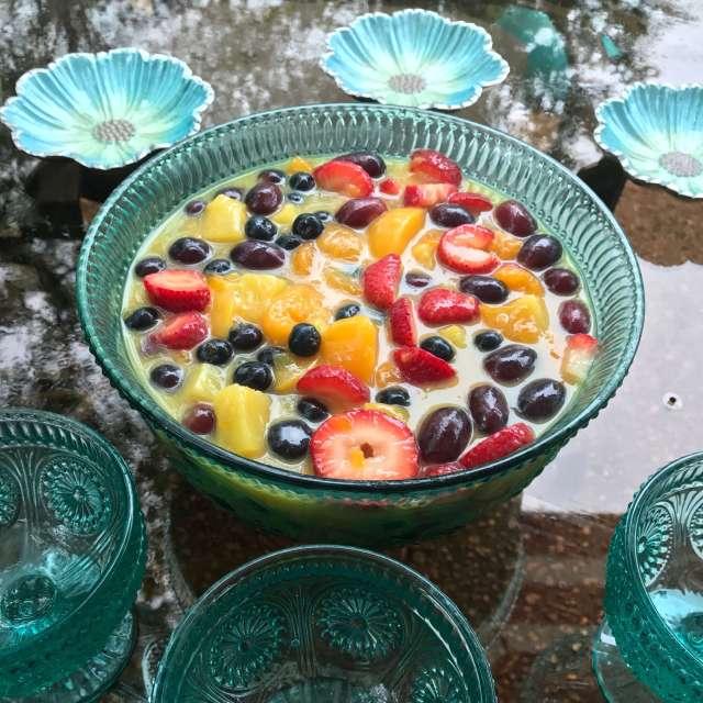 Fruit Salad is the taste of summer.