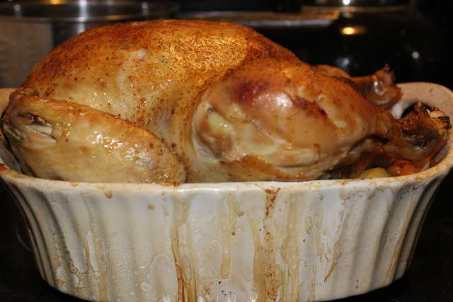 Have you tried this garlic stuffed baked chicken?