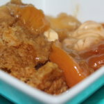 Peaches & Cream Cobbler Recipe