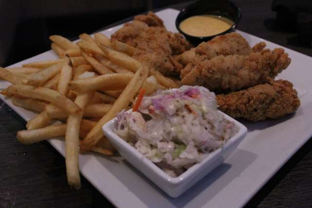 Chicken Tenders entree at Main Event Entertainment.