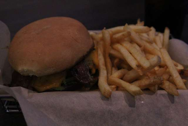 Bacon Cheeseburger from Main Event Entertainment