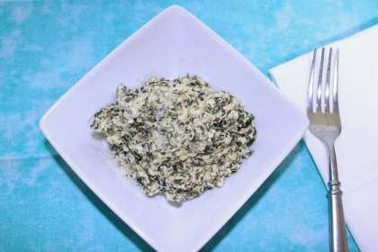 Creamed spinach is good enough for holidays and easy enough for everyday.