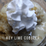 Key Lime Cobbler:  A Slow Cooker #Recipe