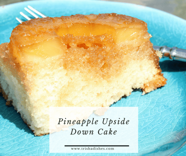 I can't wait to try this Pineapple Upside Down Cake!