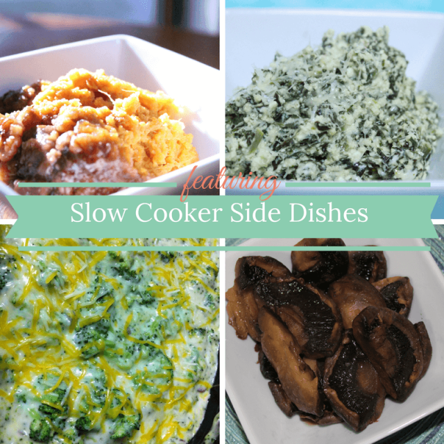 Let your slow cooker do the work with these fabulous Slow Cooker Side Dishes.