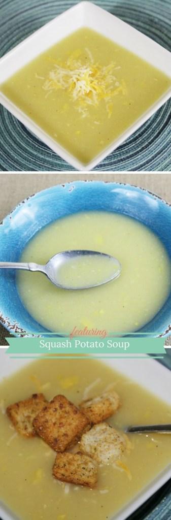 Squash Potato Soup is a delicious comfort food!