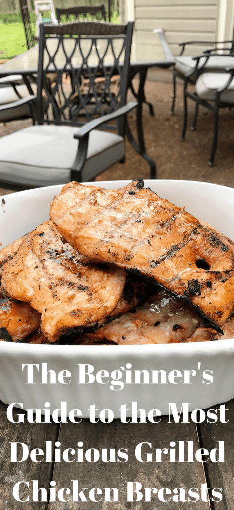 So many good tips for grilled chicken breasts!