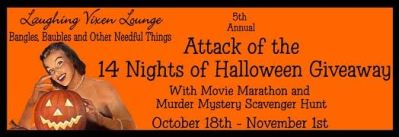 Have you entered the 5th Annual Attack of the 14 Nights of Halloween Giveaway yet?